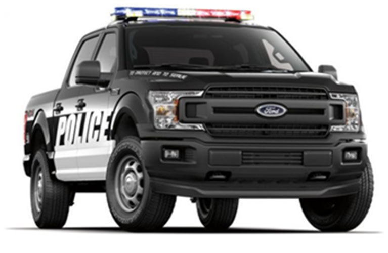 Ford F-150 Law Enforcement Service Vehicle